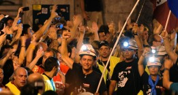 Madrid recibe a los mineros como héroes
