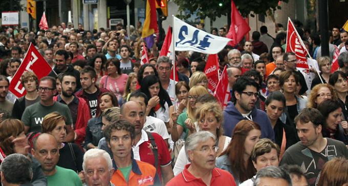 """Histórica movilización en Gijón tras la """"marcha negra"""""""