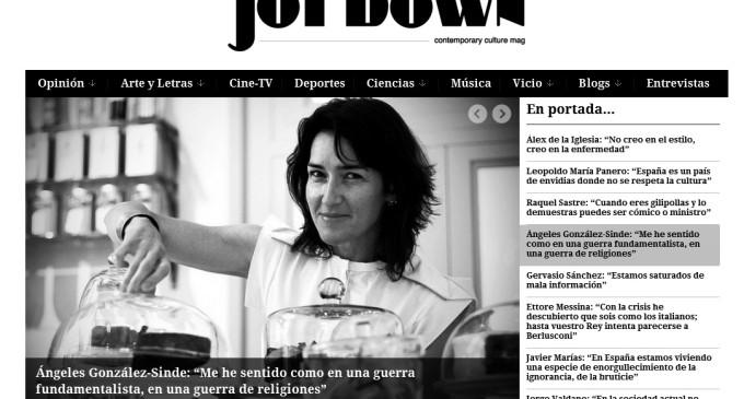 """Jotdown: """"Un día somos fachas, al siguiente rojazos y por la noche mourinhistas o culés"""""""