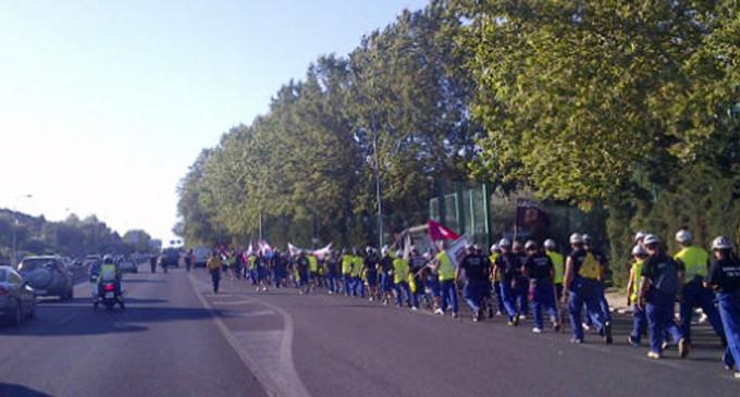 Los mineros podrán pasar delante del Palacio de la Moncloa