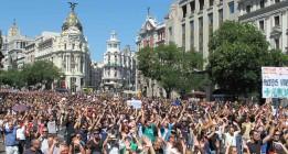 Madrid logra un nuevo récord de manifestaciones