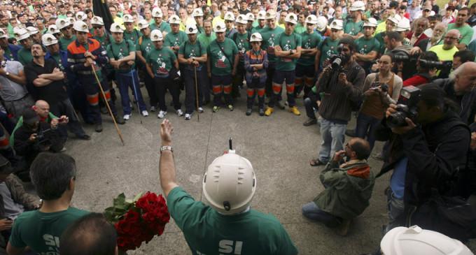 Los mineros salen al encuentro de la Semana Negra