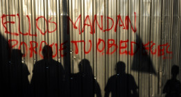 """La protesta """"Merkel go home"""" abre el otoño indignado"""
