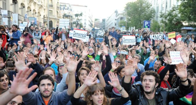 La protesta del 26-S, minuto a minuto