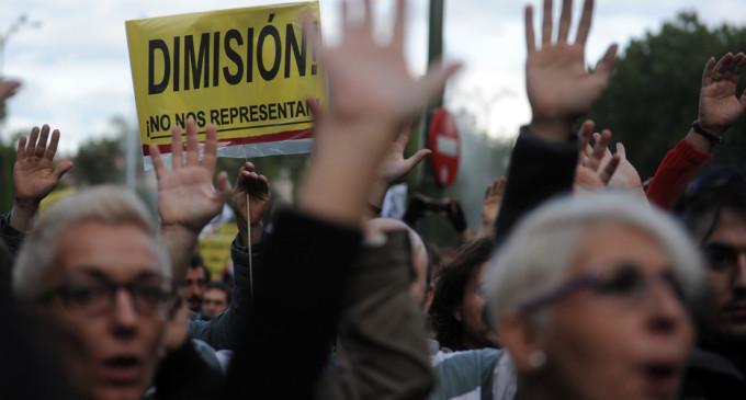 La protesta del 29S se afianza en la tercera manifestación en Neptuno