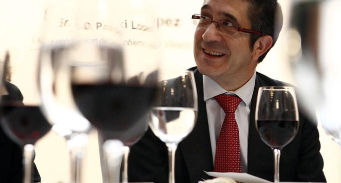 """Entrevista a Patxi López: """"Si el PNV gobierna, no dudará en hacer recortes en la línea de Rajoy"""""""