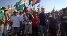 Histórica marcha del SAT en Sevilla