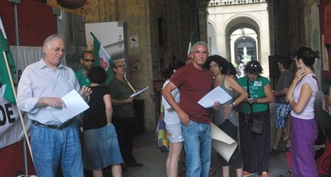 El SAT ocupa el rectorado de la Universidad de Sevilla