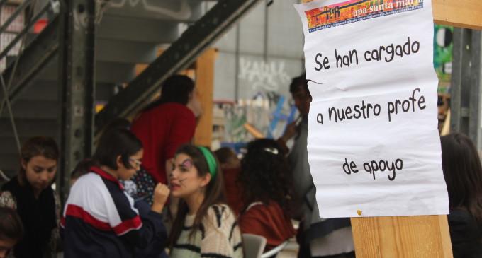 Alta participación en la huelga de colegios, según los convocantes