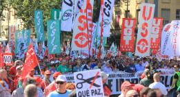 Las protestas de la Cumbre Social calientan motores para una huelga