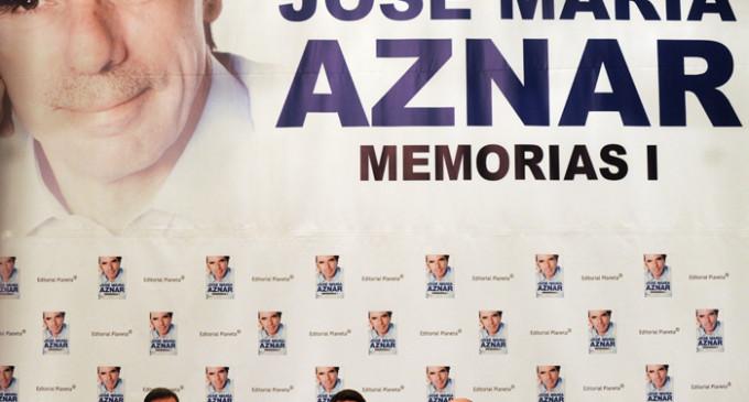 """Aznar compara la situación actual con la de 1934 y acusa a los nacionalistas de """"organizar grandes líos"""""""
