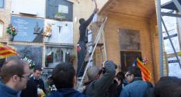Familiares honran a las víctimas del franquismo en Valencia