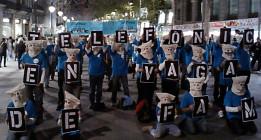 Seis trabajadores de Telefónica, en huelga de hambre contra los despidos injustificados