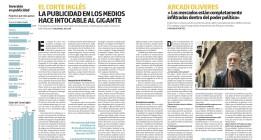 Adelanto del nº1 de La Marea: «El Corte Inglés. La publicidad en los medios hace intocable al gigante»