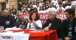 Artistas, familiares y vecinos de Alfon exigen su libertad tras un mes en prisión