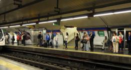 Metro de Madrid podría estar haciendo publicidad gratuita a la Iglesia Católica