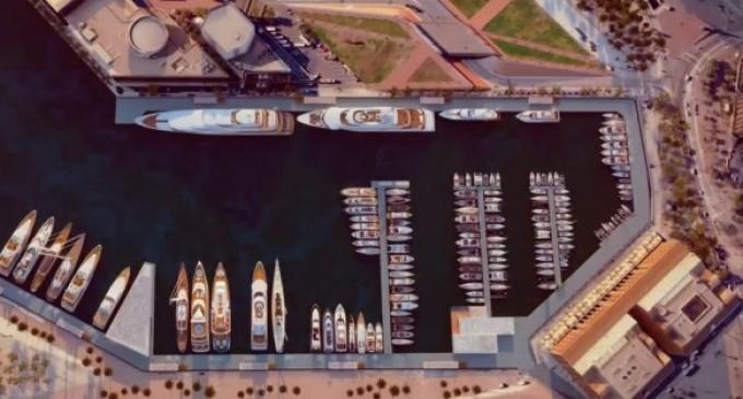 Barcelona entrega su puerto a los yates de lujo