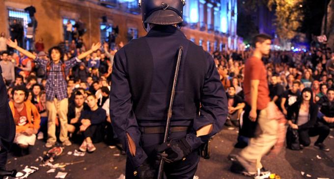 Amnistía Internacional reúne 60.000 firmas contra las cargas policiales de los últimos meses