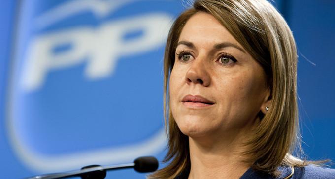 Cospedal abre la puerta a una gran coalición de PP y PSOE