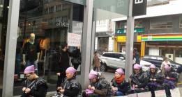 Promueven en A Coruña una campaña de boicot a Inditex