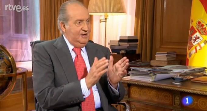 TVE y el rey obvian los escándalos de Casa Real en su única entrevista desde el año 2000