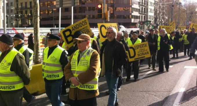 """Los iaioflautas acusan a Gallardón de usar el Código Civil para """"criminalizar"""" sus protestas"""