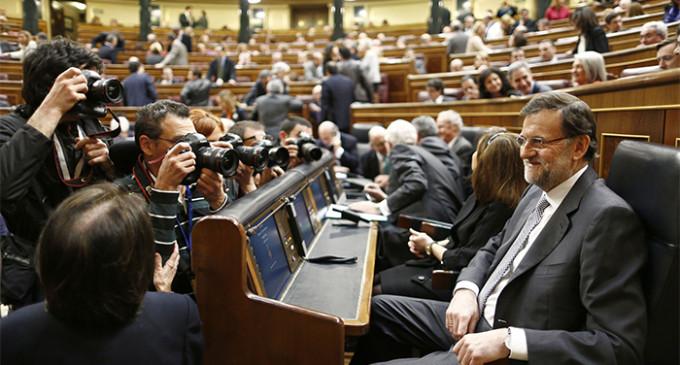 Rajoy se sacude la responsabilidad de la situación económica y la corrupción