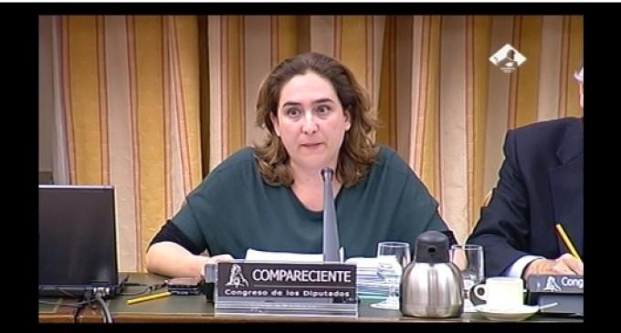 Ada Colau exige a los diputados que se pongan en la piel de los miles de desahuciados