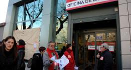 La Red de Barrios de Madrid presenta su Plan de Rescate Ciudadano en varias oficinas del INEM