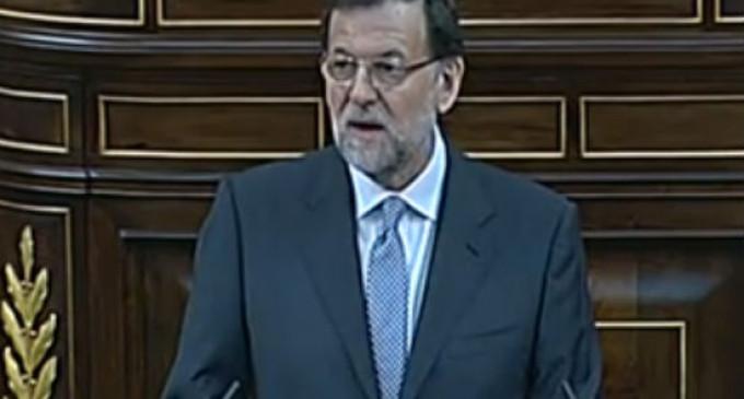 """Rajoy: """"Dejé de lado mis promesas electorales para cumplir con mi deber"""""""