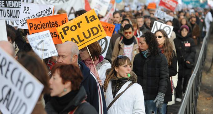 La marea blanca se extiende a toda España