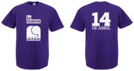 Edición especial de camisetas y tazas, homenaje al 14 de abril