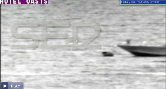 Un vídeo desmiente la versión oficial del choque de una patrullera contra una patera