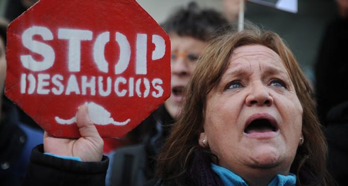 Los juzgados ordenaron más de 100.000 desahucios en 2012
