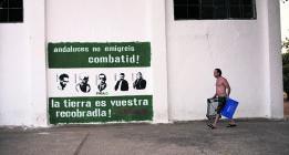 Seis familias jornaleras resisten en la finca de Somonte, ocupada hace dos años