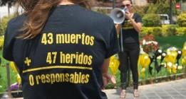 Las víctimas del accidente de metro de Valencia se concentran por última vez