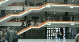 Once detenidos en el campus de Somosaguas durante un encierro de estudiantes