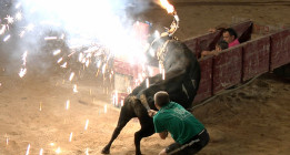 VÍDEO: Agresión a dos antitaurinas en un correbou