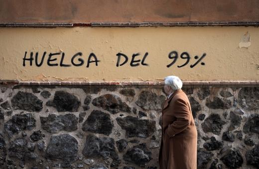 Las manifestaciones durante el 14-N fueron masivas en Madrid y en Barcelona.