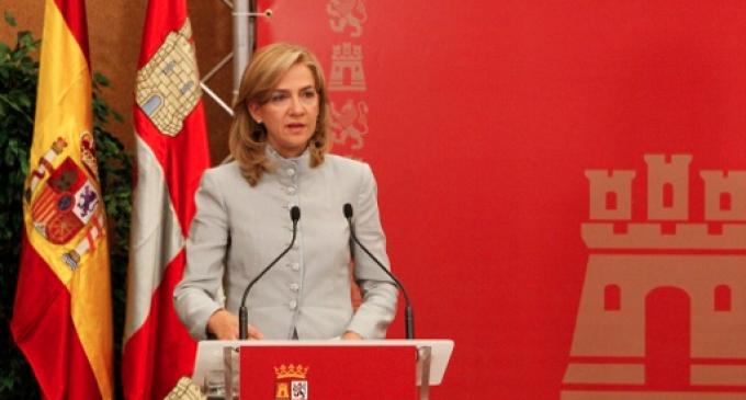 El juez imputa a la infanta Cristina en el 'caso Urdangarín'