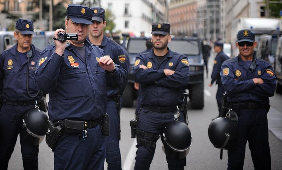 policia camara