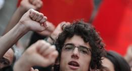 La manifestación del 1 de mayo reúne a decenas de miles de personas en todo el Estado