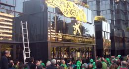 Declarados inocentes los ocho activistas imputados en el 'caso CaixaBank'