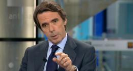 Aznar critica el liderazgo de Rajoy y no descarta volver a la política