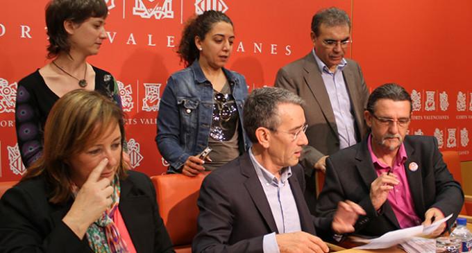 Frente común de la oposición contra el fracking en Castellón