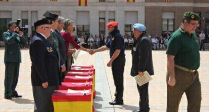 La delegada del Gobierno en Cataluña homenajea a los combatientes españoles en el Ejército nazi