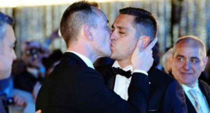 Matrimonio (homosexual) histórico en Montpellier