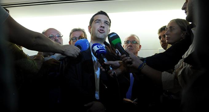 """Tsipras llama en Madrid a crear un """"frente común"""" europeo de izquierdas """"radical"""""""