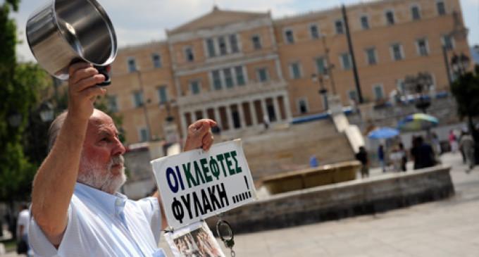 """El FMI ve """"errores"""" en el rescate a Grecia y Almunia dice que """"no había alternativa"""""""