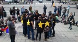 El PP niega la palabra al 15-M en Bruselas en un debate sobre la emigración